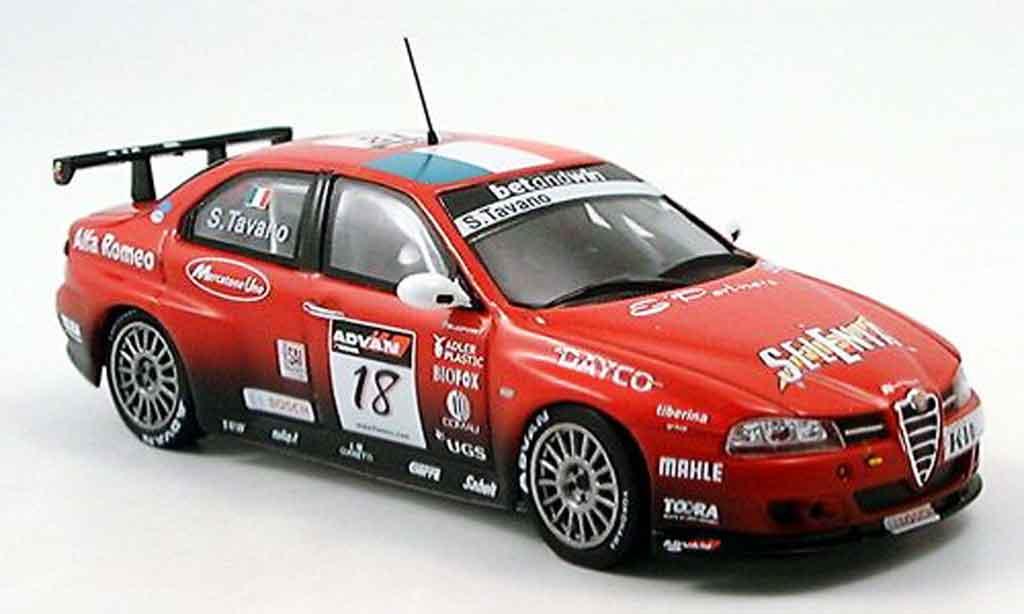 Alfa Romeo 156 GTA WTCC 1/43 Spark no.18 s.tavano 2006 miniature