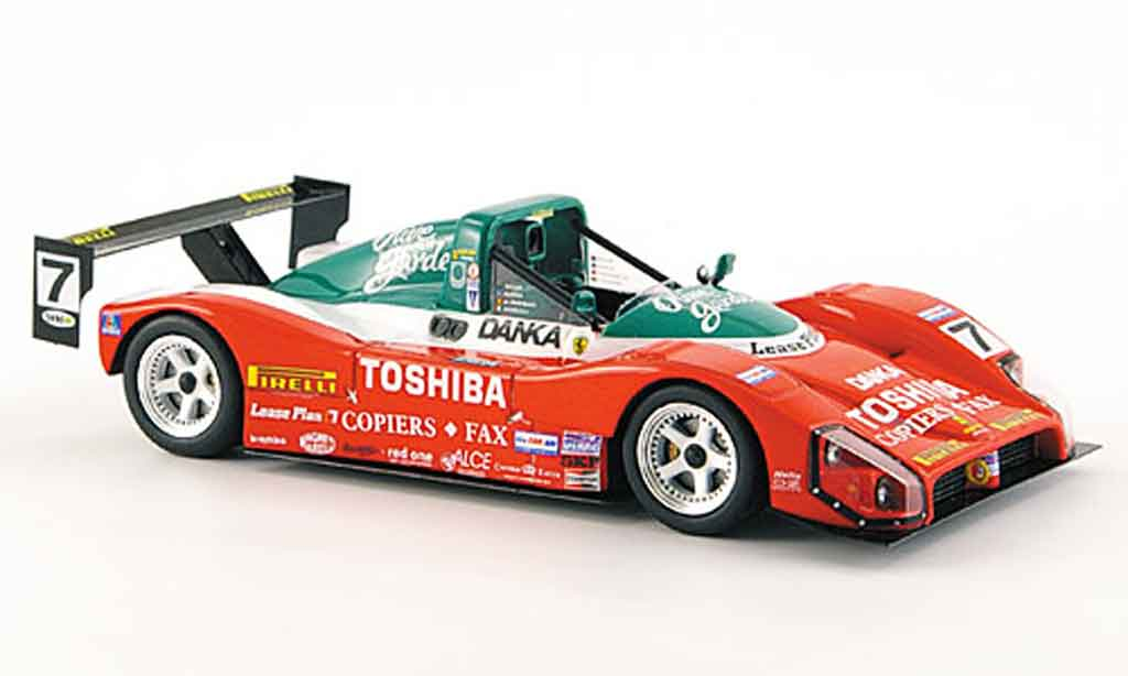 Ferrari 333 1/43 Red Line sp no.7 24h daytona 1999 miniature