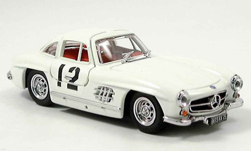 Mercedes 300 SL 1/43 Bang SL Rally sestieres No.12 miniature