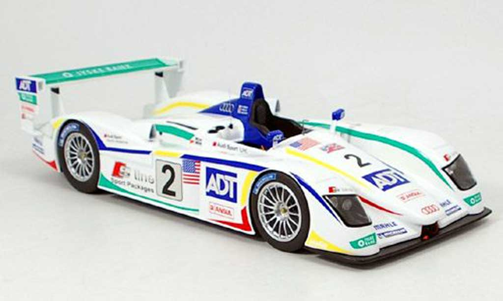Audi R8 Le Mans 1/18 Spark dritter 2005