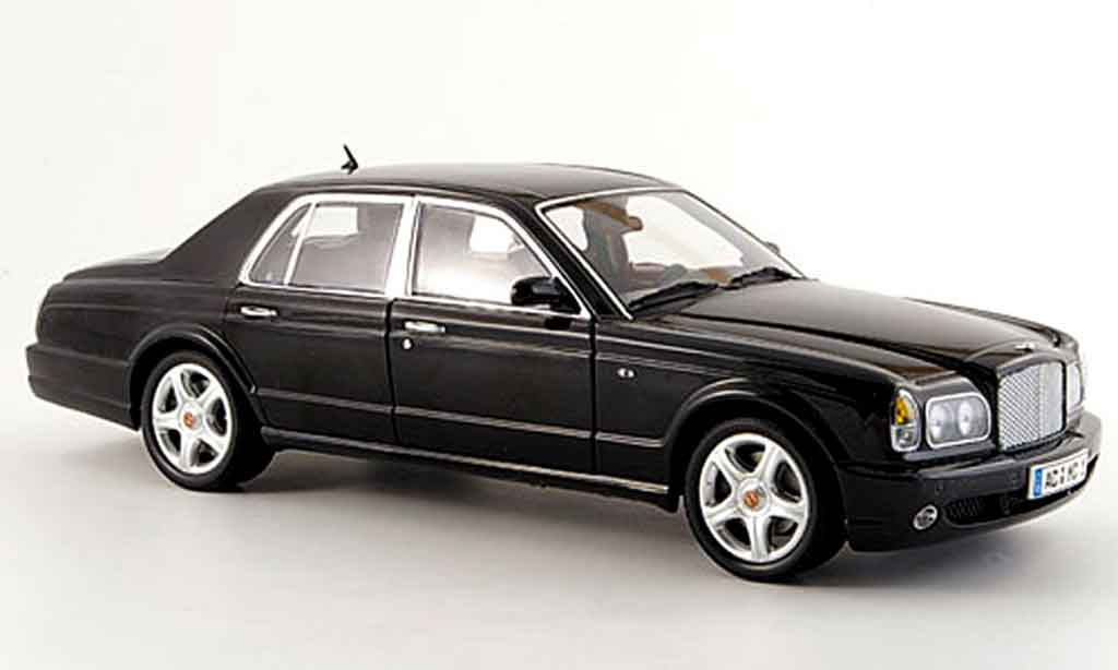Bentley Arnage 1/18 Minichamps t nero 2002 miniatura