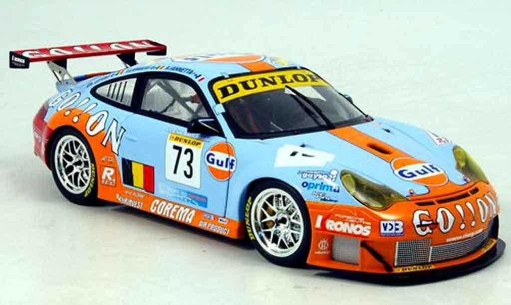 Porsche 996 GT3 RSR 1/18 Minichamps ice pol racing team miniature