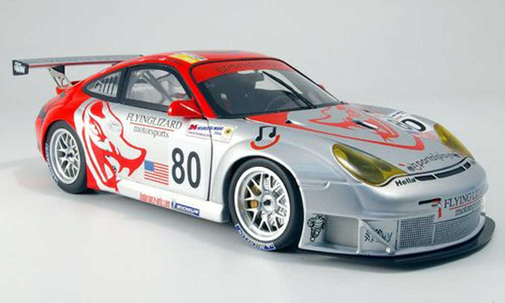 Porsche 996 GT3 RSR 1/18 Minichamps flying lizard diecast