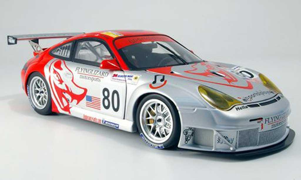 Porsche 996 GT3 RSR 1/18 Minichamps flying lizard miniature