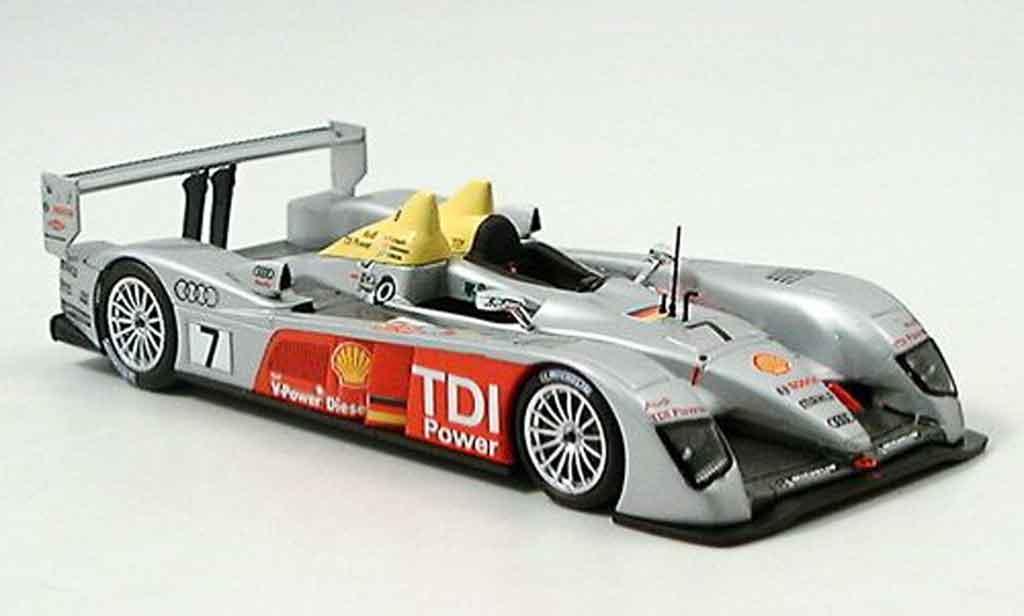 Audi R10 1/43 Minichamps ADT Team dritter Le Mans 2006 miniature
