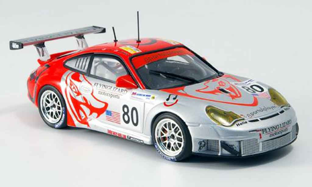 Porsche 996 GT3 RSR 1/43 Minichamps Flying Lizard diecast