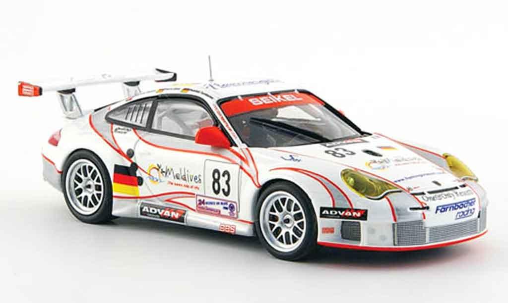 Porsche 997 GT3 RSR 1/43 Minichamps 2006 No.83 Seikel Motorsport 24h Le Mans diecast model cars
