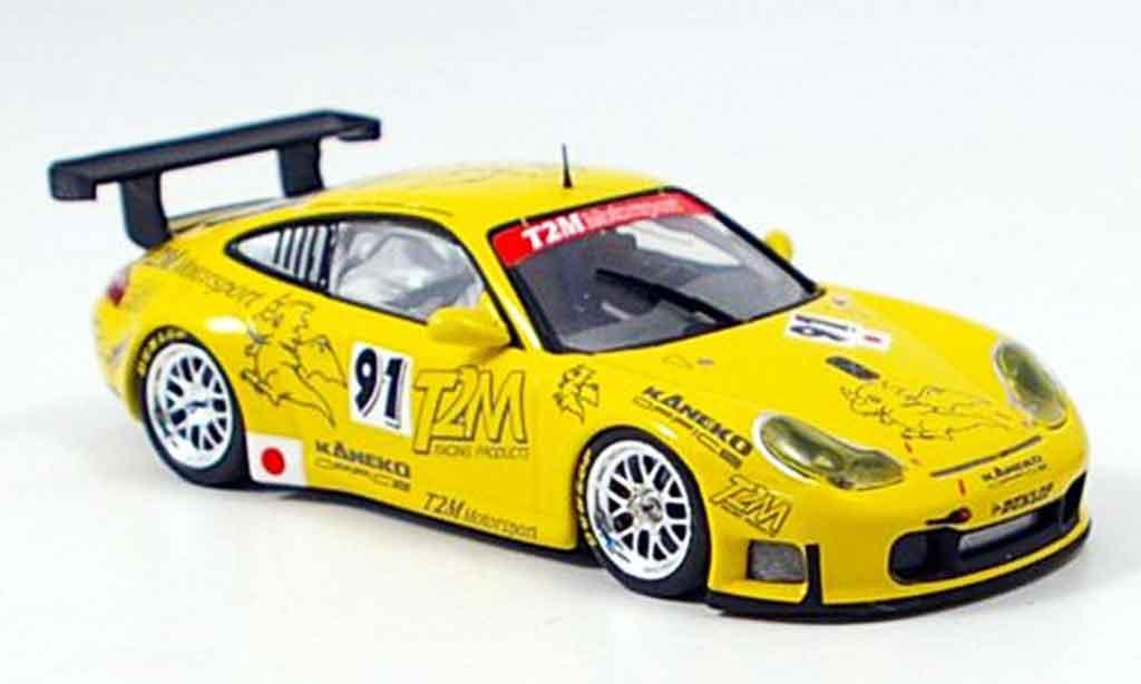 Porsche 997 GT3 RS 2006 1/43 Minichamps Essais du Mans miniature