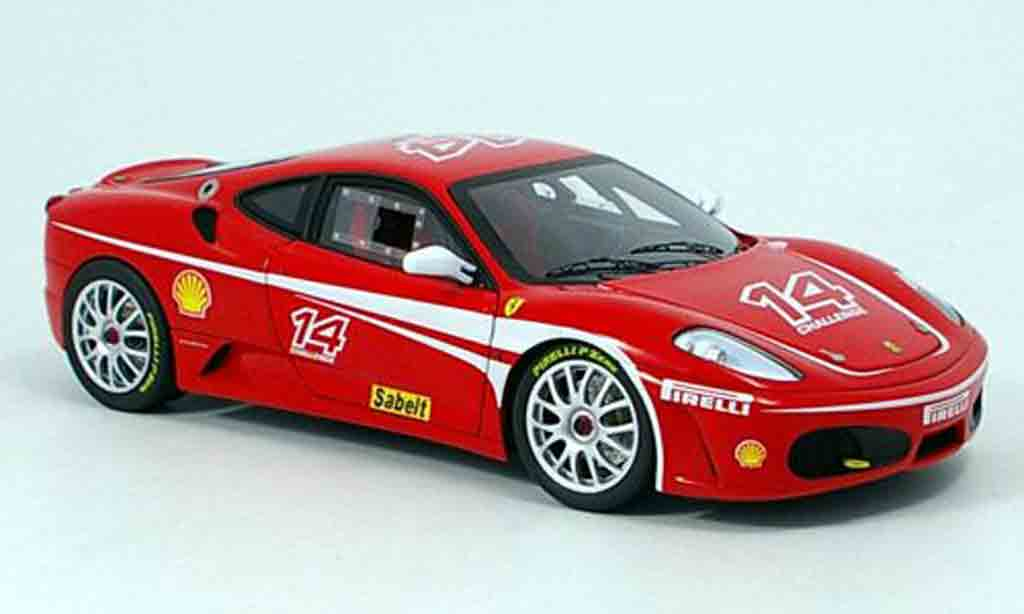 Ferrari F430 Challenge 1/18 Hot Wheels Elite serie super-elite miniature