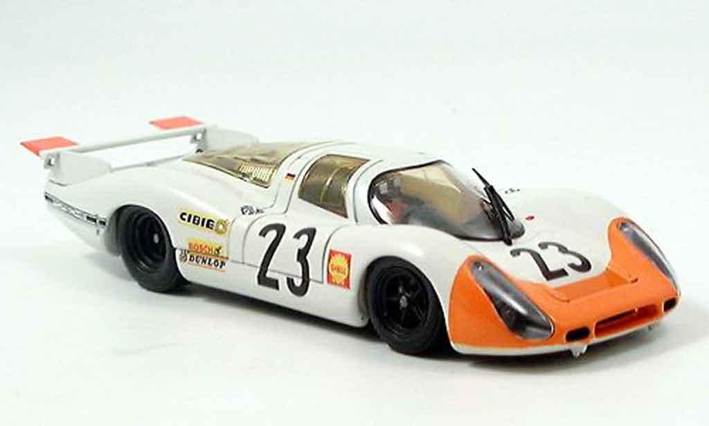 Porsche 908 1969 1/43 Ebbro No.23 Le Mans diecast model cars