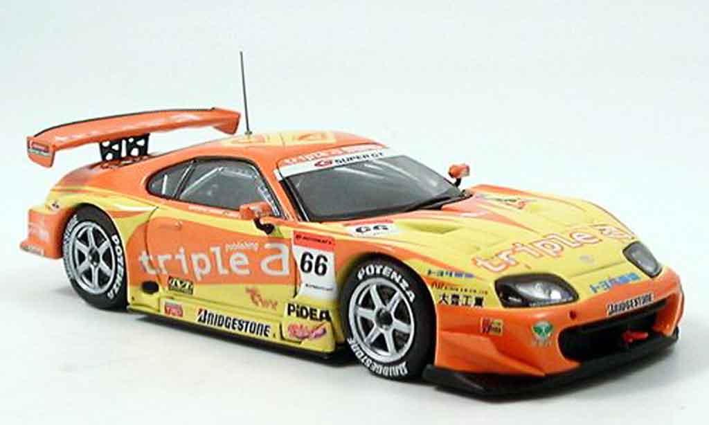 Toyota Supra 1/43 Ebbro triple sard super gt 500 2006 modellautos