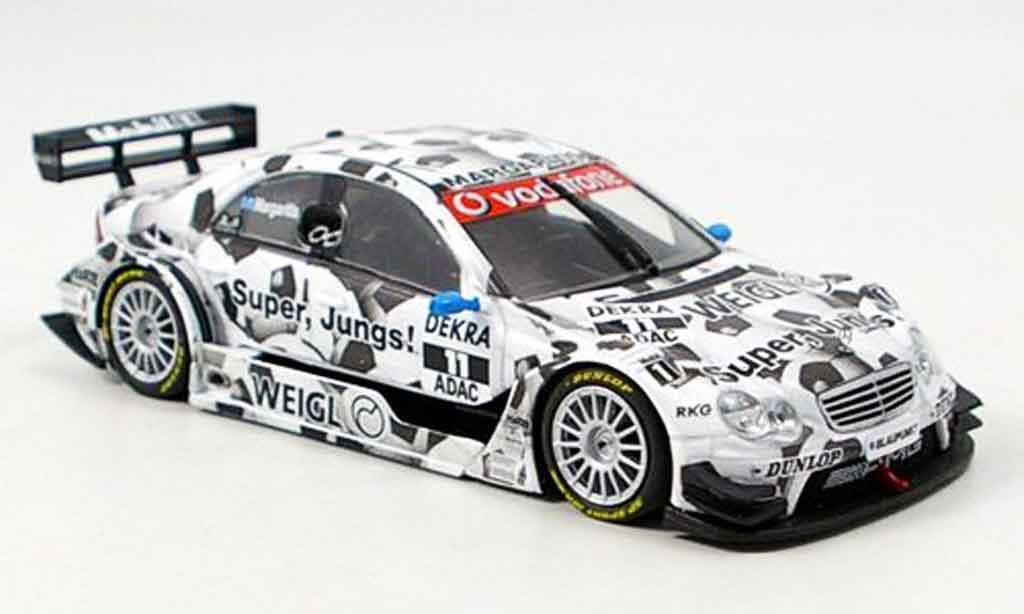 Mercedes Classe C 1/43 Minichamps DTM A.Margaritis Team Persson 2006 miniature