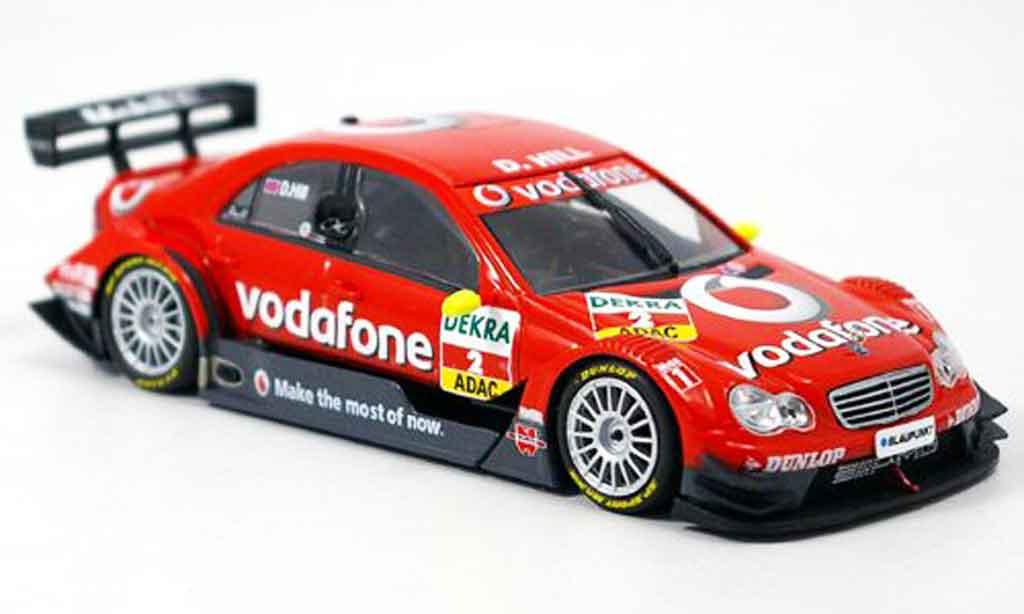 Mercedes Classe C 1/43 Minichamps DTM Damon Hill Team Vodaphone 2006 miniature