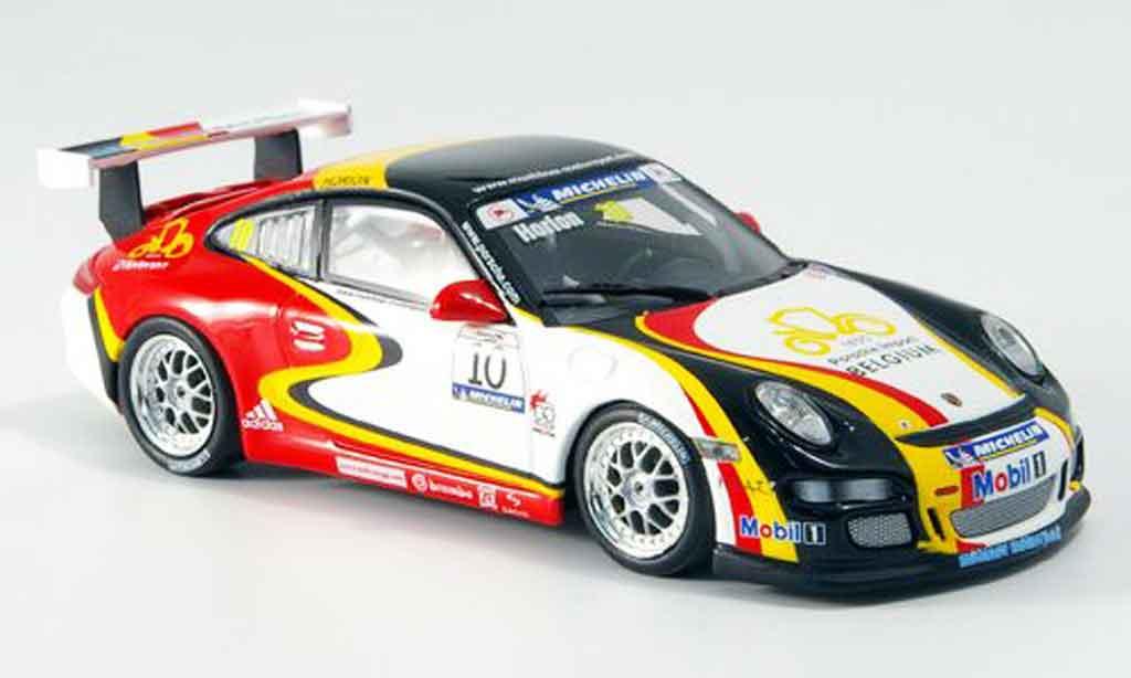 Porsche 997 GT3 1/43 Minichamps Muhlner Motorsport diecast