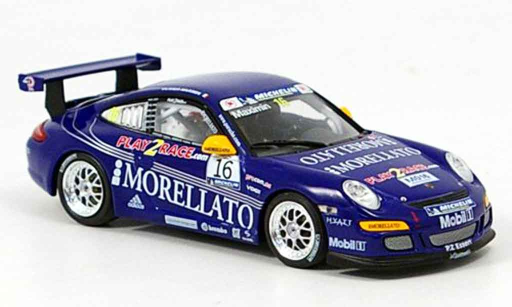 Porsche 997 GT3 1/43 Minichamps Racing Team Morellato miniature