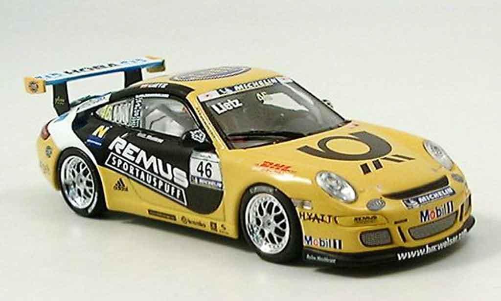 Porsche 997 GT3 1/43 Minichamps Toliavec Motorsport diecast model cars