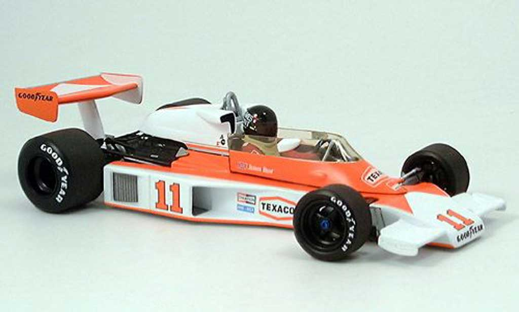 Ford F1 1/18 Minichamps mclaren m 23 j.hunt world champion 1976 miniature