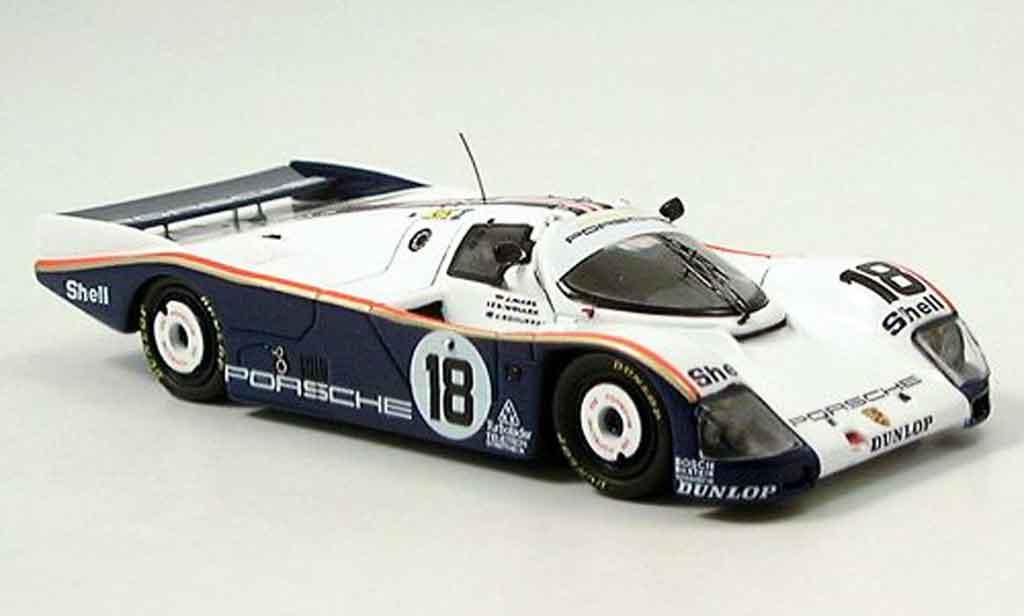 Porsche 962 1987 1/43 Spark No.18 Le Mans miniature
