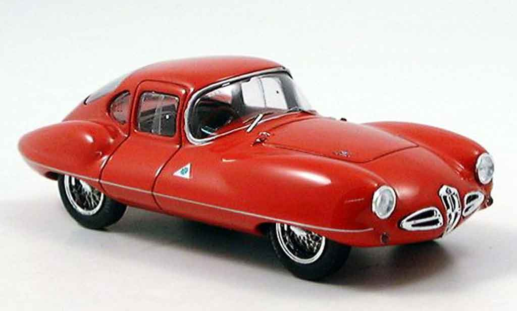 Alfa Romeo Disco 1/43 Bizarre coupe volante rouge 1953 miniature