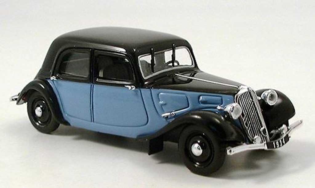 Citroen Traction 11 1/43 Norev AL noire-gris 1935 miniature