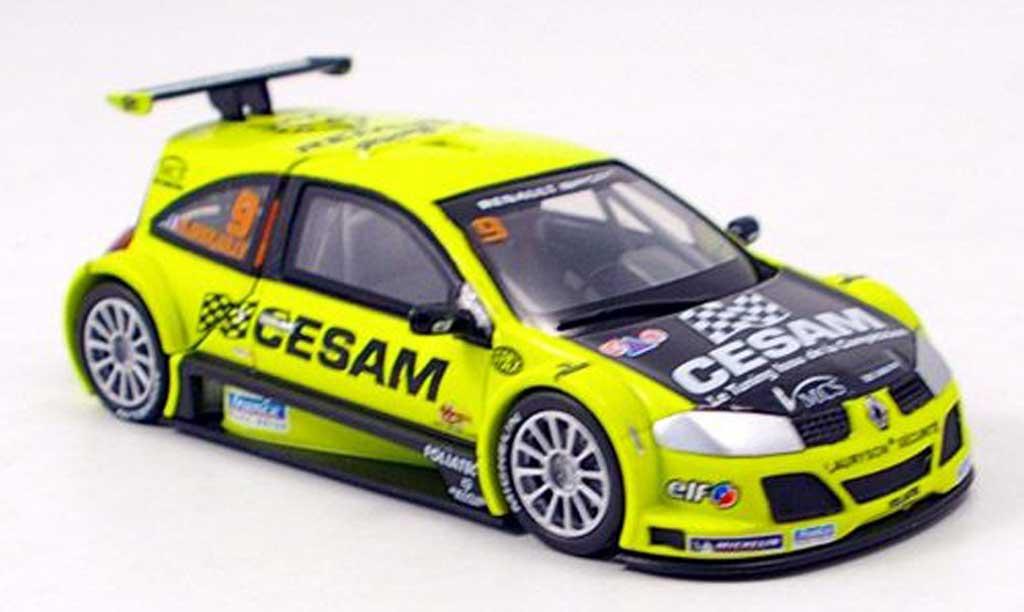Renault Megane Trophy 1/43 Norev CESAM miniature