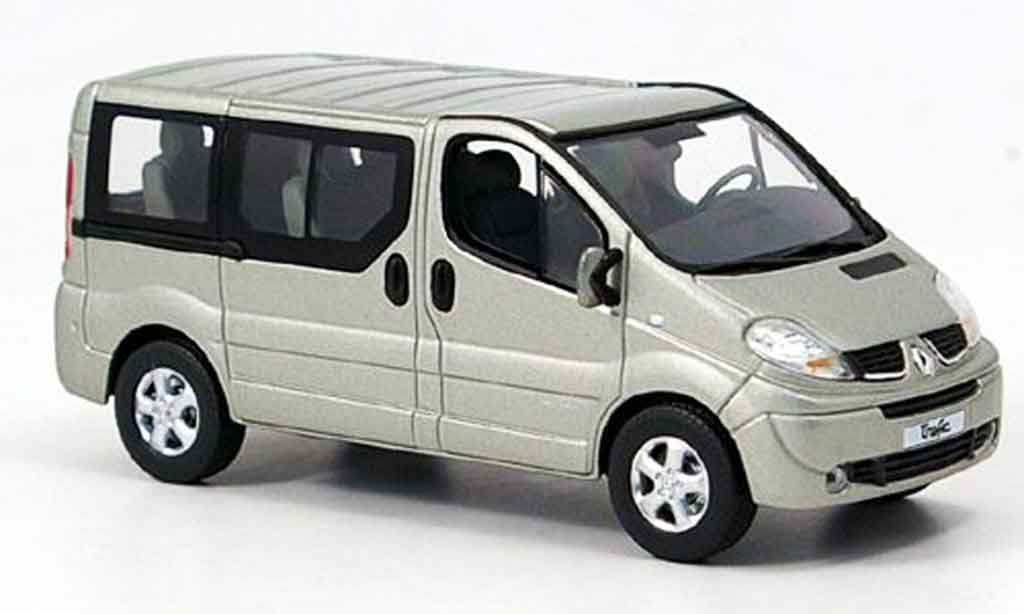 Renault Trafic 1/43 Norev grise miniature