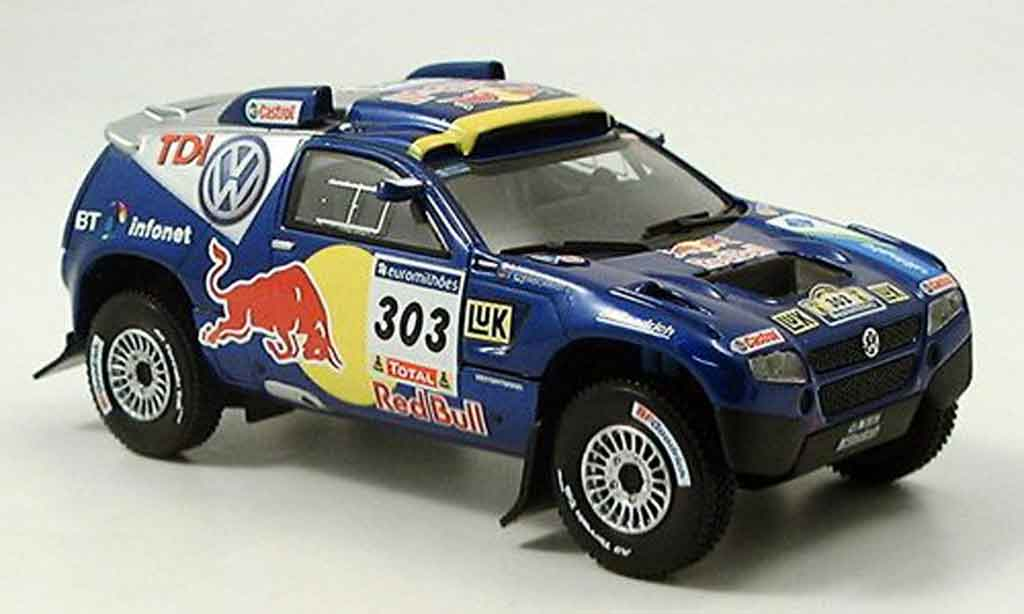 Volkswagen Touareg 1/43 Norev race no.303 rallye dakar 2006 diecast
