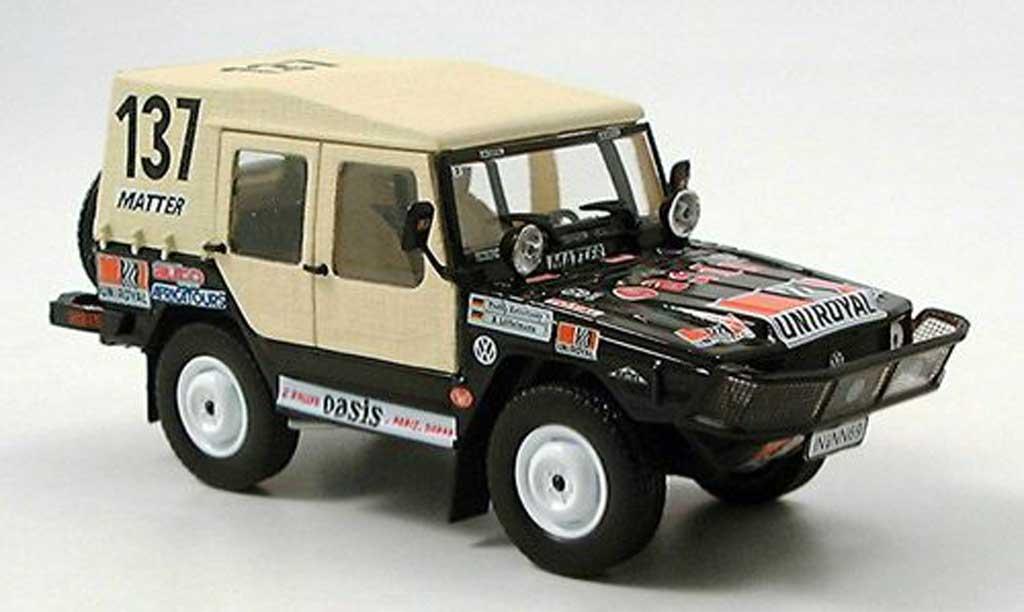 Volkswagen Iltis 1/43 Norev No.137 Paris Dakar Rally  1980