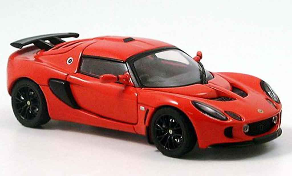 Lotus Exige 1/43 Autoart mk ii red 2005 diecast model cars