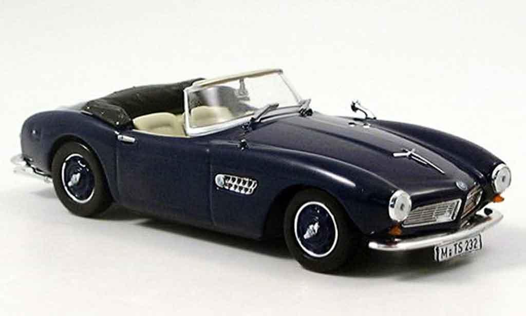 Bmw 507 1/43 Norev bleu geoffnetes Verdeck 1956 miniature