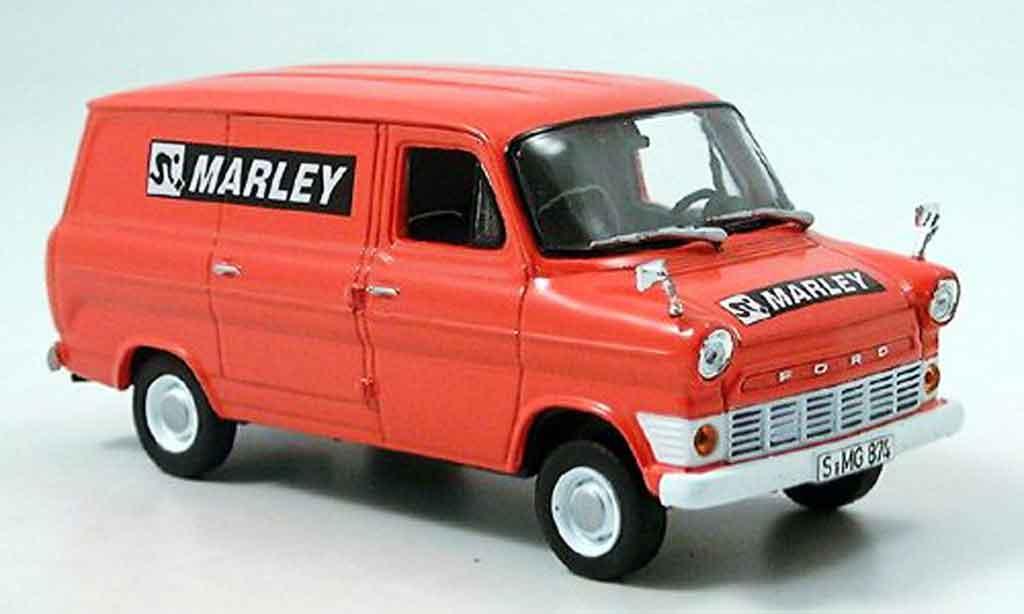 Ford Transit 1/43 Norev Kasten 1969 miniature