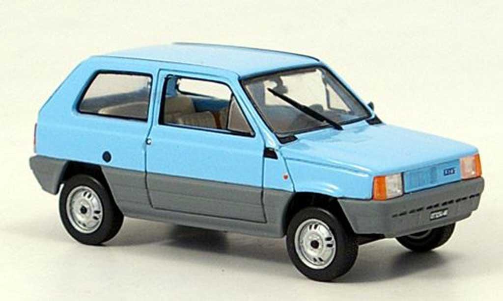Fiat Panda 1/43 Norev bleu/grise 1980 miniature