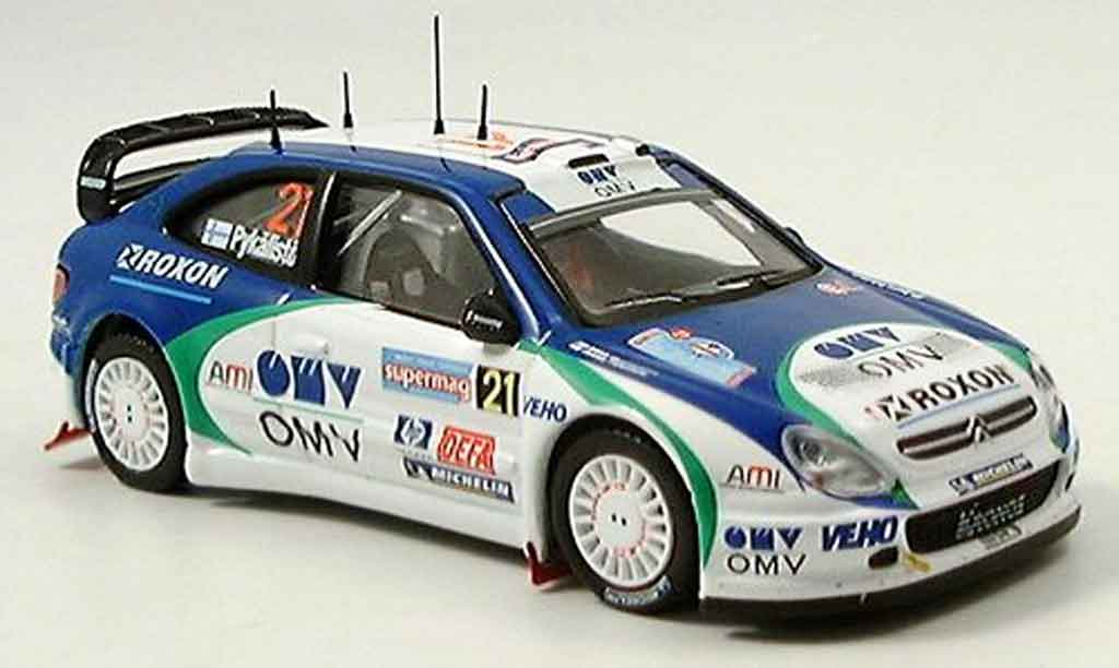Citroen Xsara WRC 2005 1/43 IXO no.21 pykalisto ovaskeinen italien miniature