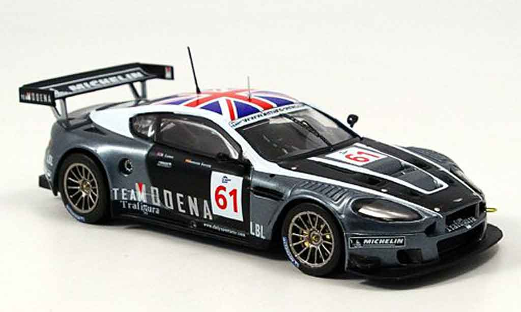 Aston Martin DBR9 1/43 IXO no.61 spa garcia lyons 2006 miniature