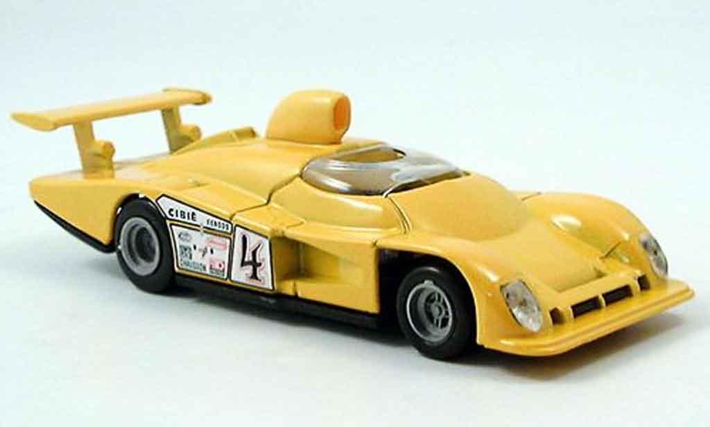 Alpine A442 1/43 Solido jaune miniature