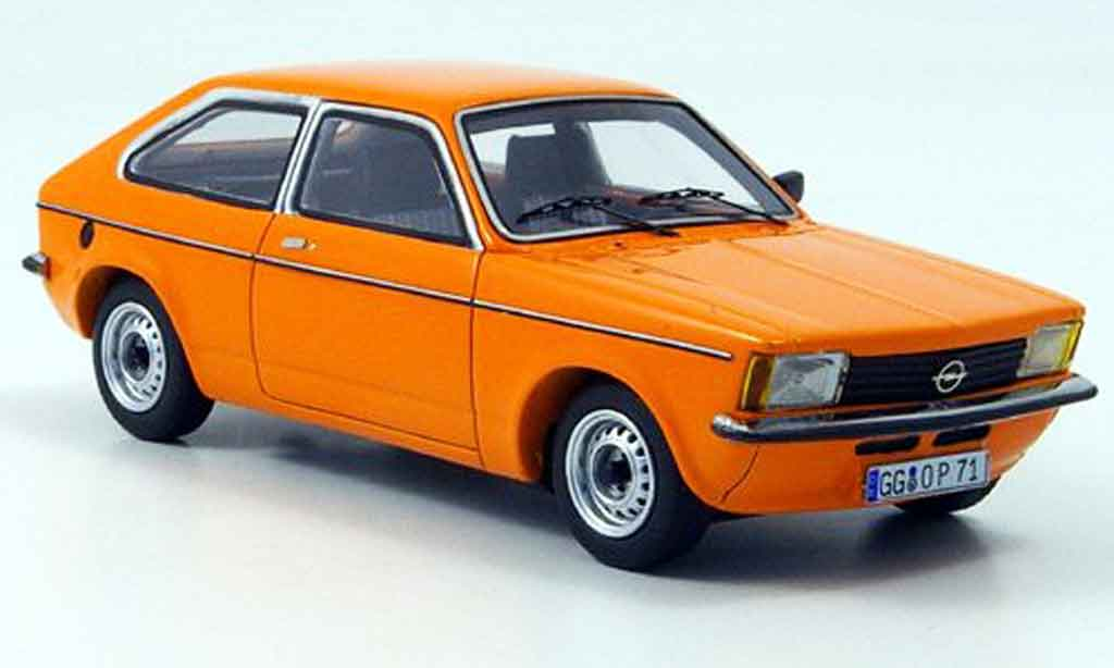 Opel Kadett C 1/43 Neo city orange 1978 miniature