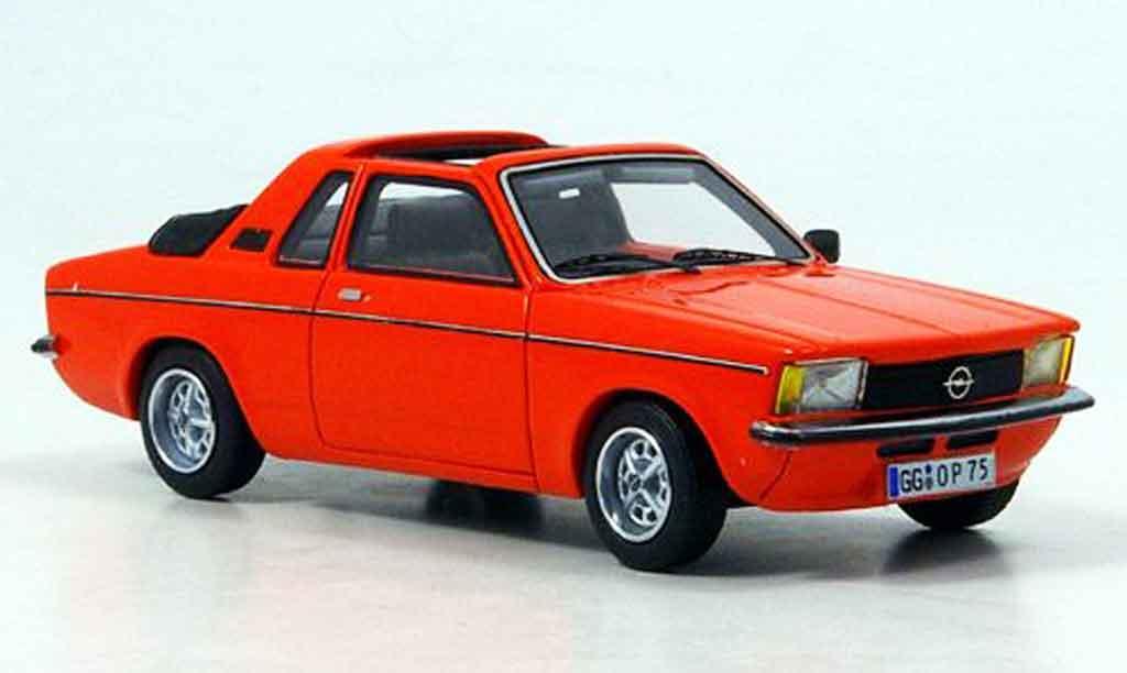 Opel Kadett C 1/43 Neo aero arancionerosso 1978 miniatura