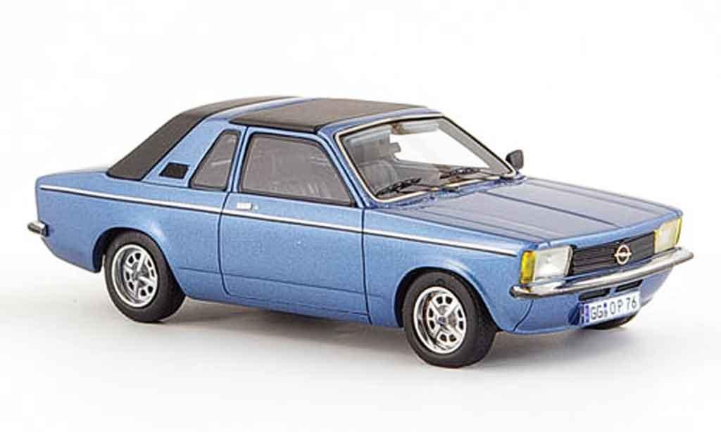 Opel Kadett C 1/43 Neo aero bleu geschlossen 1978 miniature