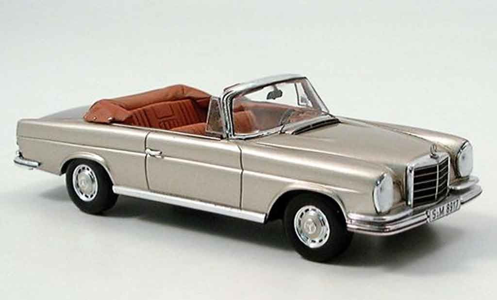 Mercedes 280 1961 1/43 Spark SE 3.5 Cabrio (W 111) or 71 miniature