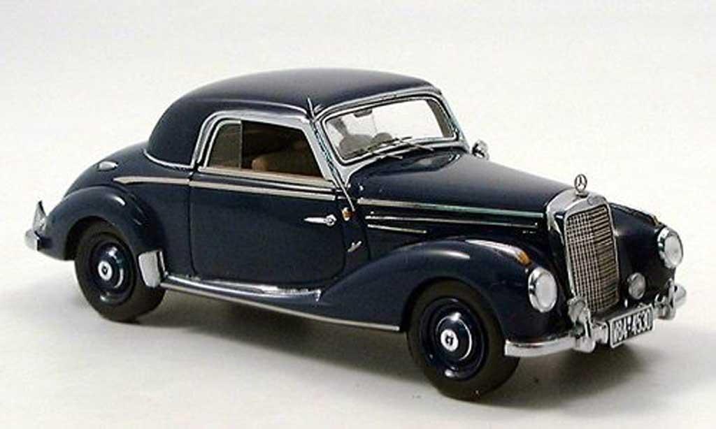 Mercedes 220 1/43 Spark Coupe (W187) bleu miniature
