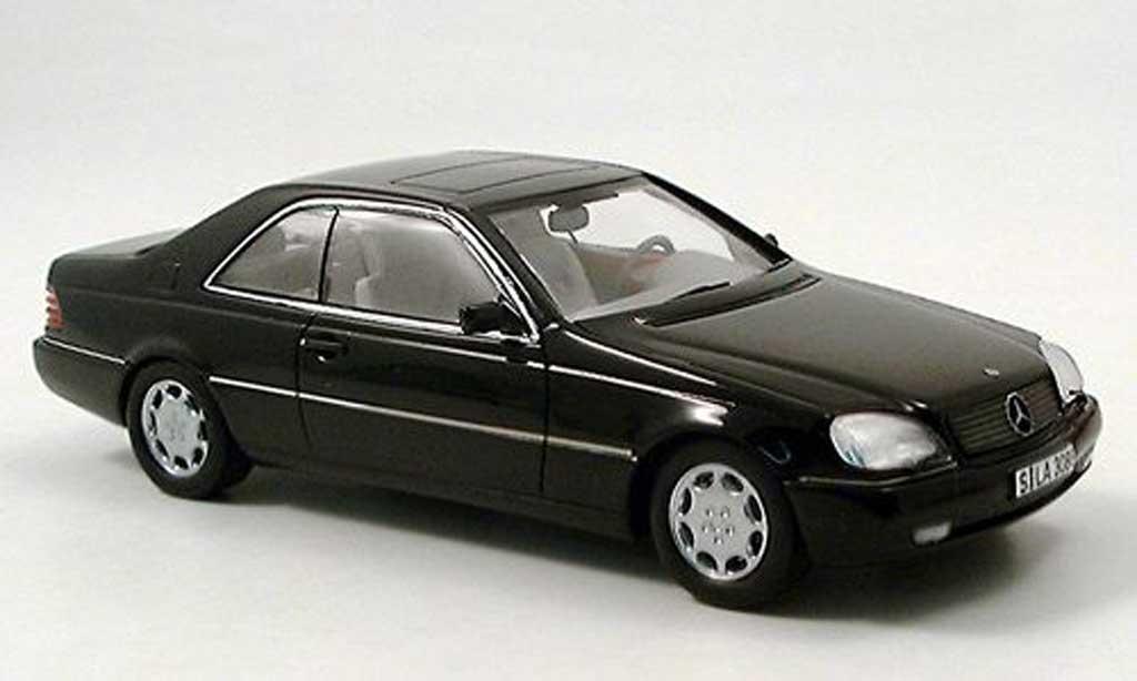 Mercedes 500 CL 1/43 Spark (C140) noire miniature