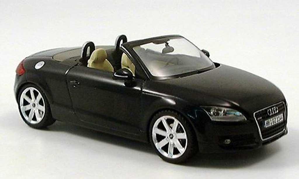 Audi TT Roadster 1/43 Schuco noire 2006 miniature