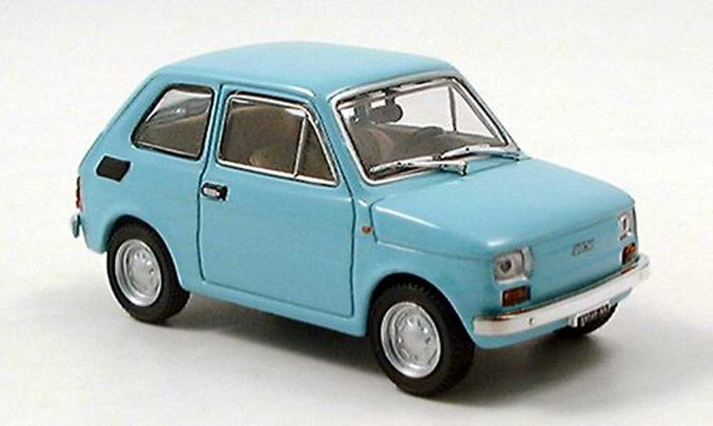 Fiat 126 1/43 Starline turkis miniature