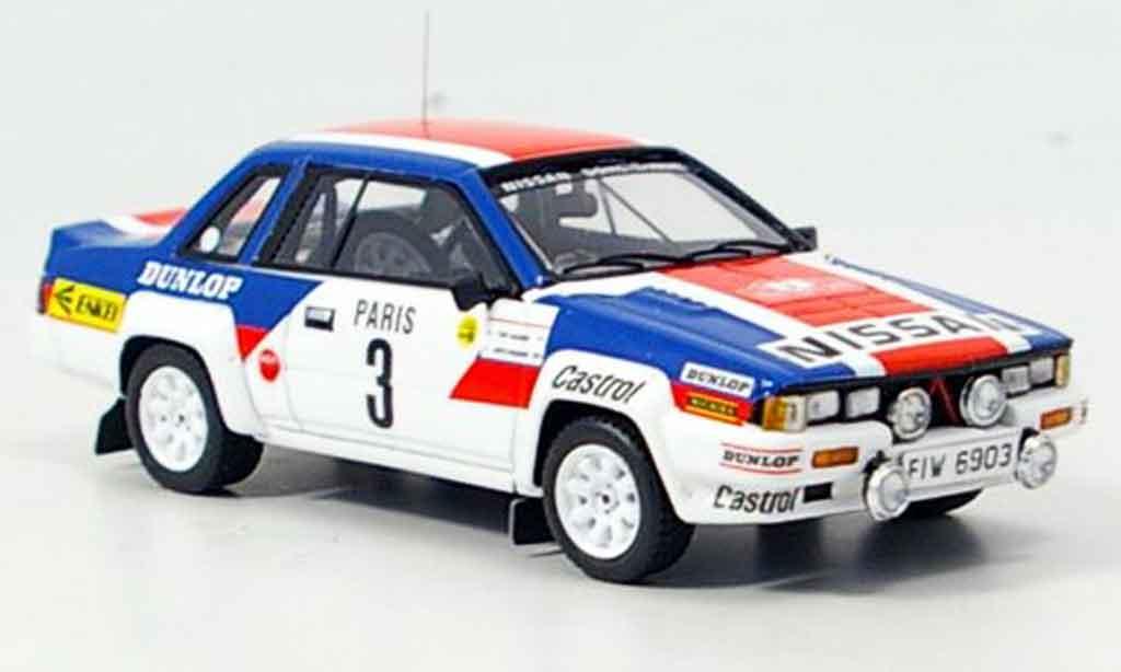 Nissan 240 RS 1/43 Bizarre No.3 Rally Monte Carlo 1984