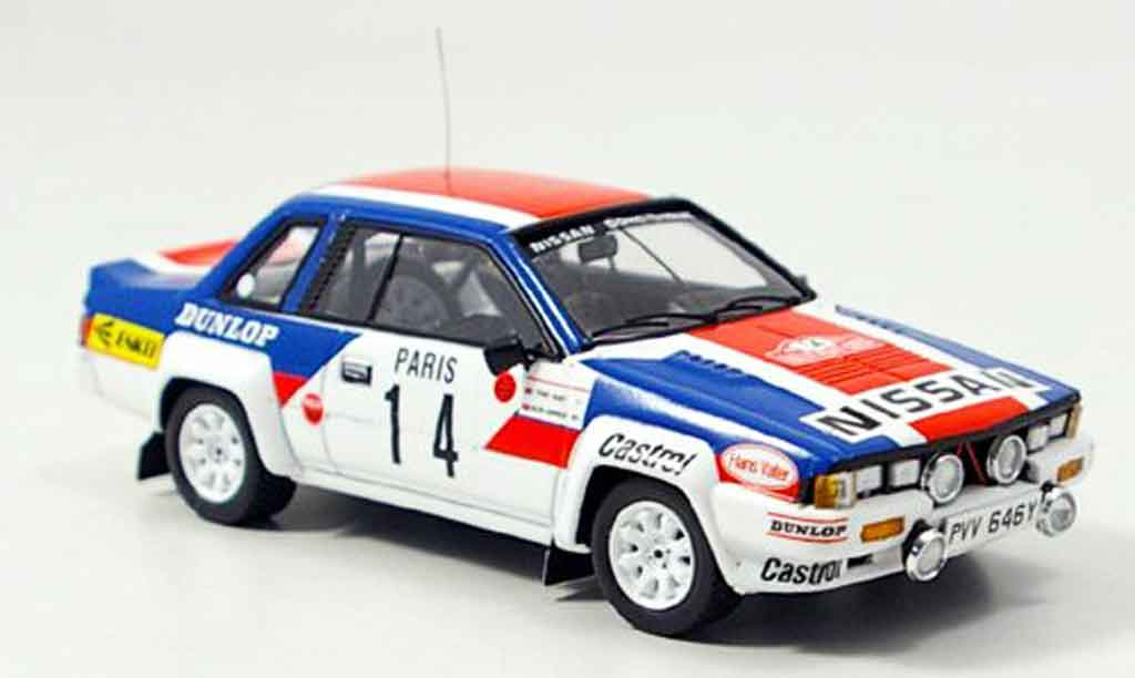 Nissan 240 RS 1/43 Bizarre No.14 Rally Monte Carlo 1984