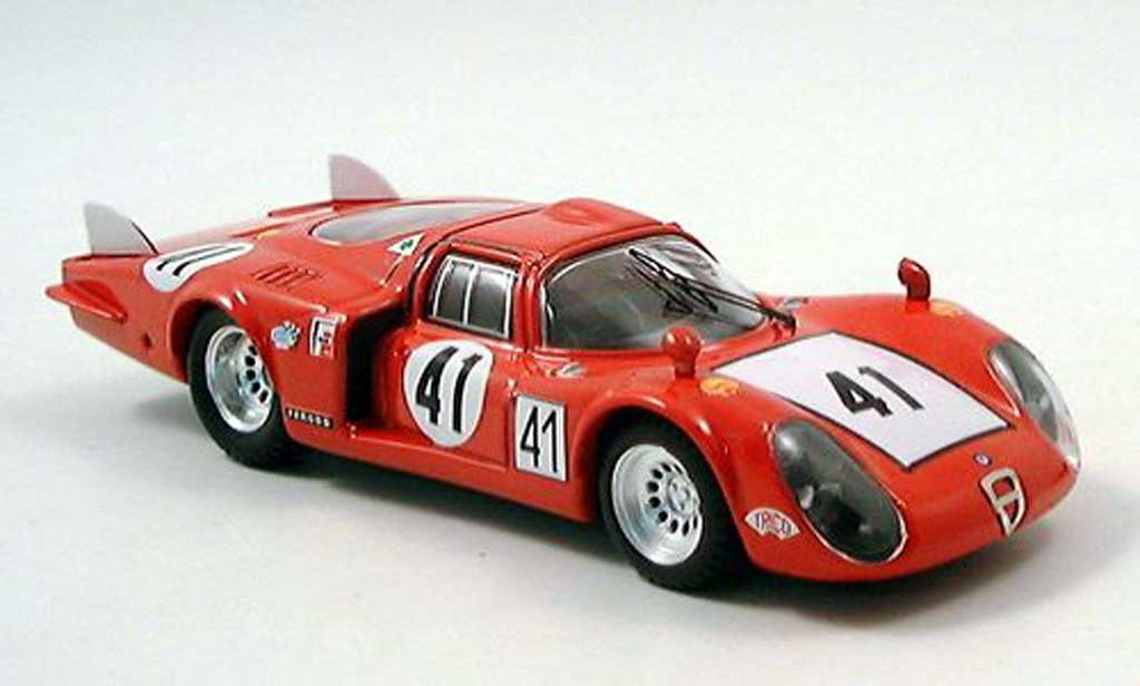 Alfa Romeo 33.2 1968 1/43 Best LM No.41 Bagheti/Vaccarell 24h Le Mans miniature