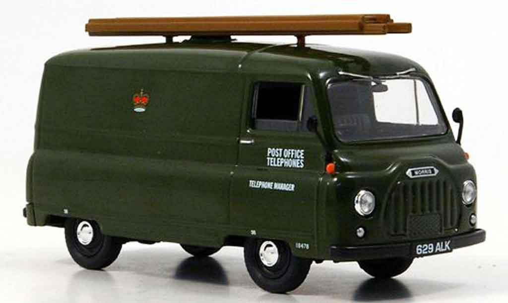 Morris J2 1/43 Vanguards Van Post Office Telephones grun miniature