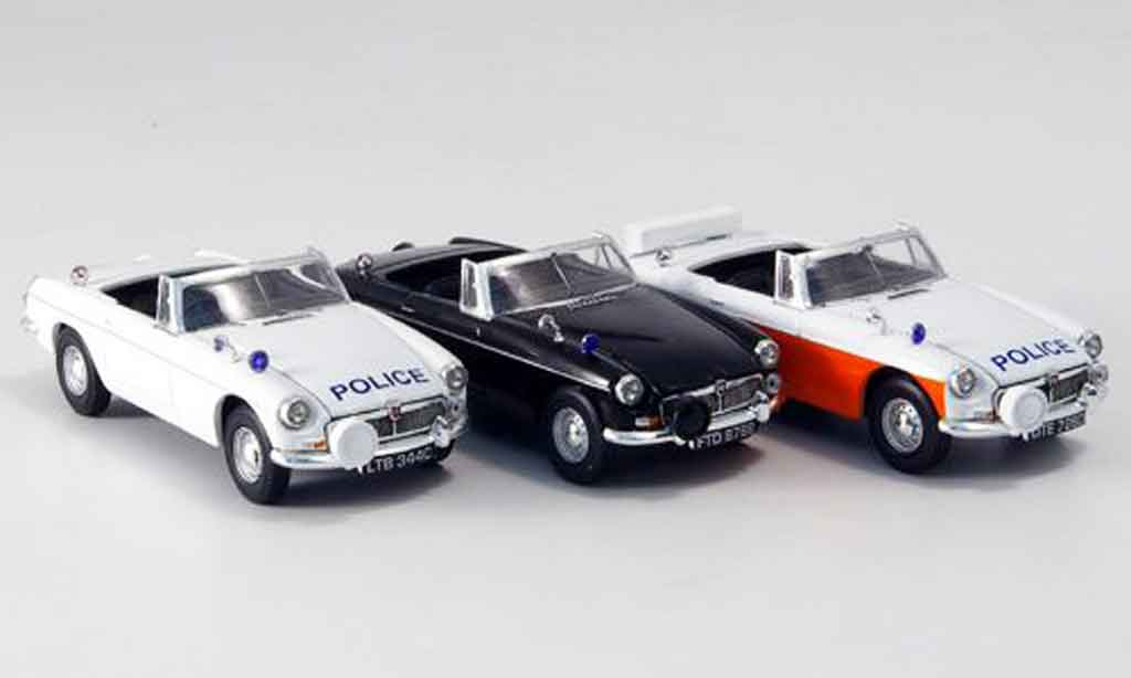 MG B 1/43 Vanguards Set police Lancashire miniature
