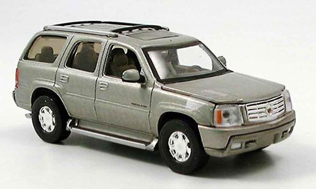 Cadillac Escalade 1/43 Del Prado grise miniature