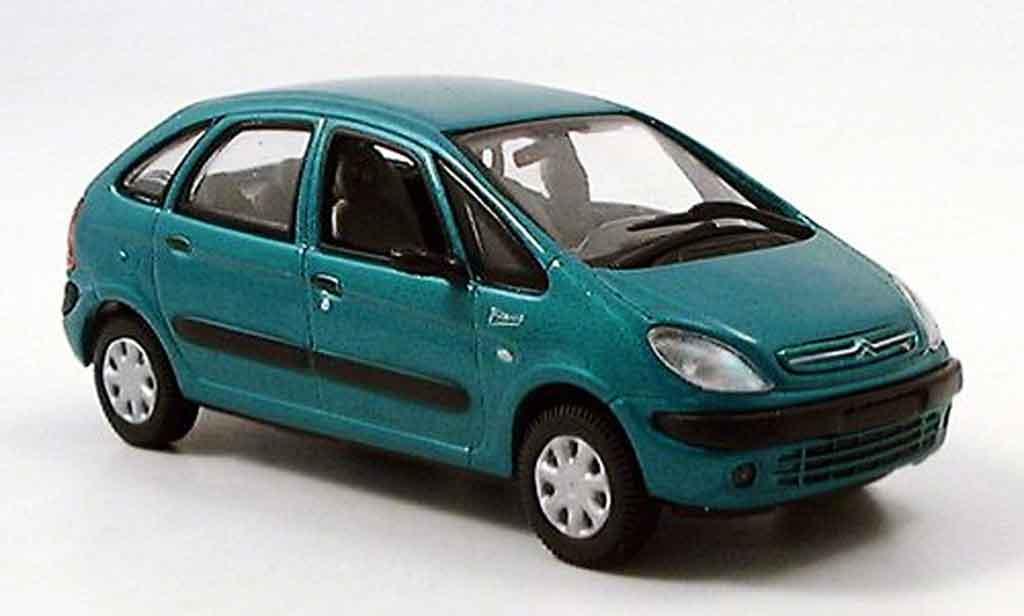 Citroen Xsara 1/43 Del Prado picasso grun miniature